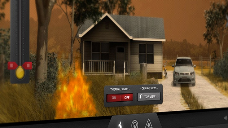 "Bushfires are a natural part of living in suburban and rural Victoria. The Country Fire Authority asked us to develop a tool that would help captivate unengaged secondary school students about the dangers of bushfires. We delivered a revolutionary digital environment Bushfire Education Simulator which utilized gaming technology & animation to help illustrate how making educated decisions can ultimately save lives. ""Be Prepared"" has been nominated for the 2012 ""Best Digital Campaign"" Award."