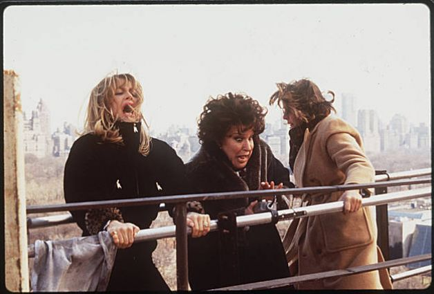 Goldie Hawn (LEFT), Bette Midler (MIDDLE) & Diane Keaton (RIGHT) | The First Wives Club #WoolWeekCompetition