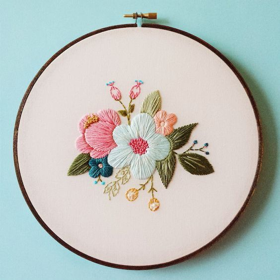 Embroidery Art Picture