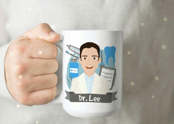 Personalized Gift for Dentist - Dentist Mug - Dentist Cup - Cute Dentist Cup - Dentist Gift - Personalized Dentist Gift - Gift for Dentist