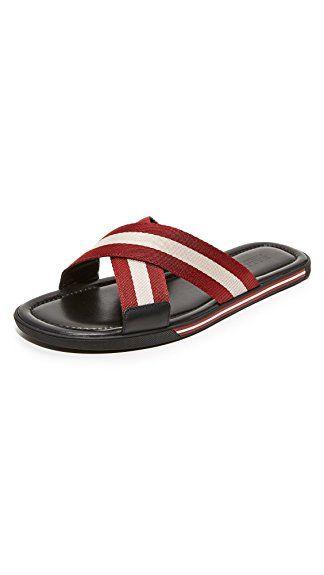 0e148cd9e Bally Men's Bonks Slide Sandals Review | Men Sandals | Sandals ...
