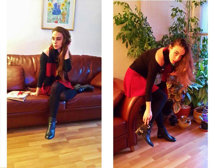 #burgundy #black #me #style #stylebook #stylebookofelif #officestyle