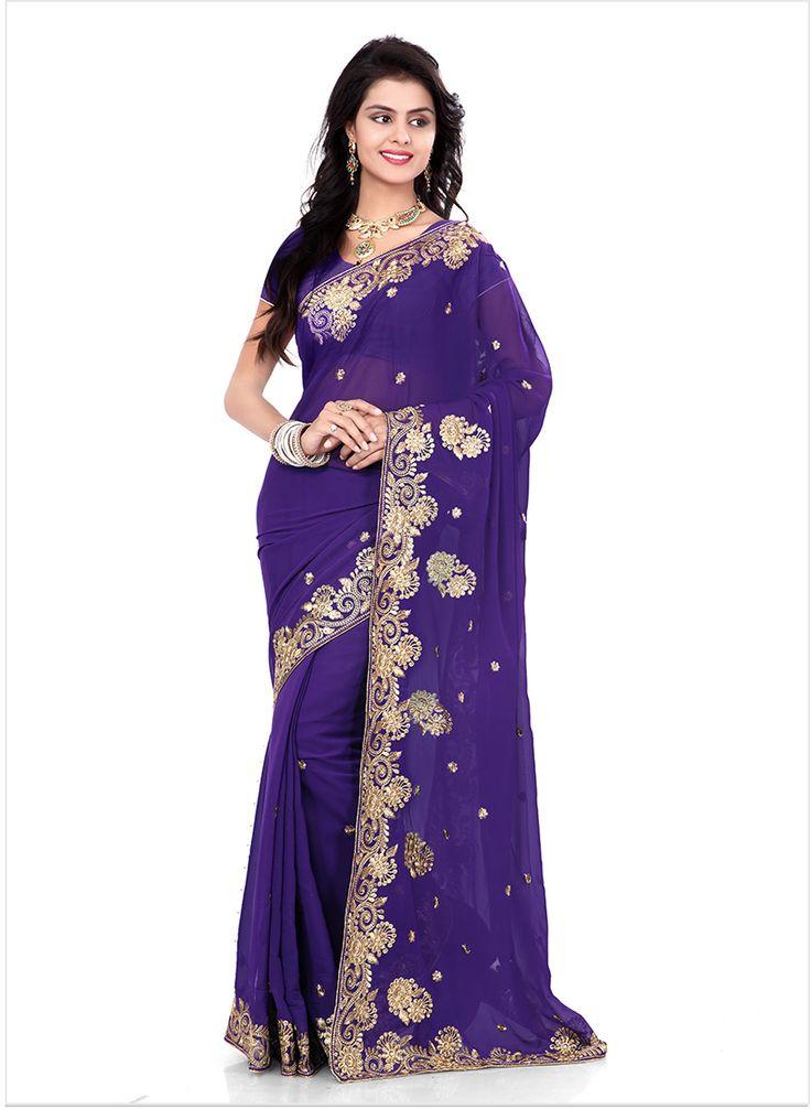 73 best Sari images on Pinterest   Ropa de fiesta, Vestido sari de ...