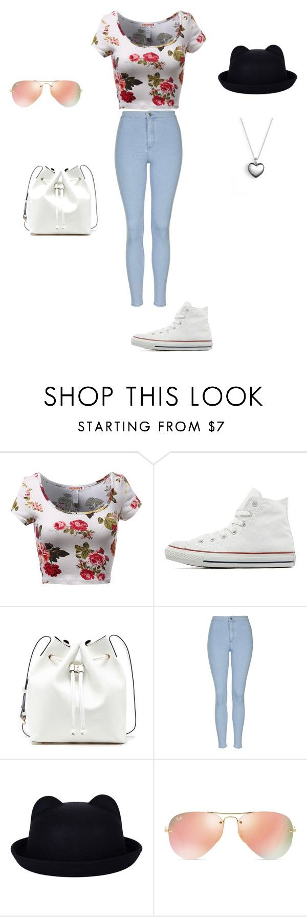 """Parc <3"" by neculaescu-alexia on Polyvore featuring Converse, Sole Society, Topshop, Ray-Ban, Pandora, women's clothing, women, female, woman and misses"