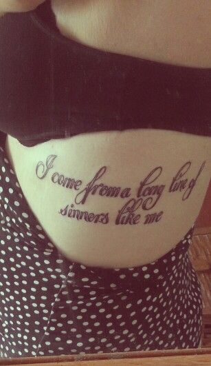 Eric Church tattoo ♥ this will be on my body someday... this is my family for sure!!