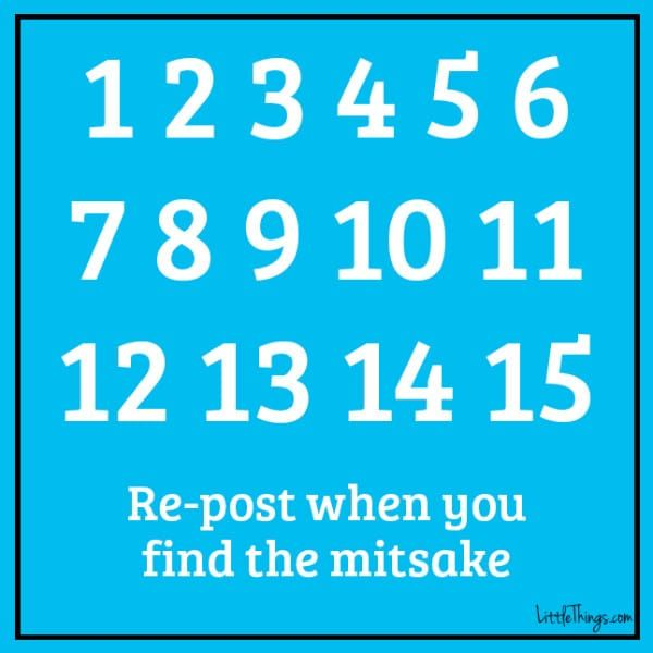 Here is the puzzle. Try to find the mistake. (We'll tell you what it is at the bottom of the post.)