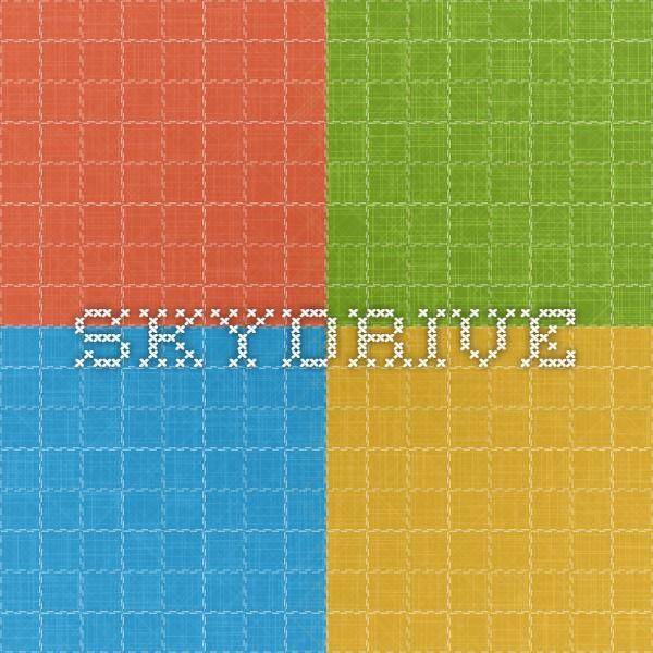 SkyDrive - Gratis online drev