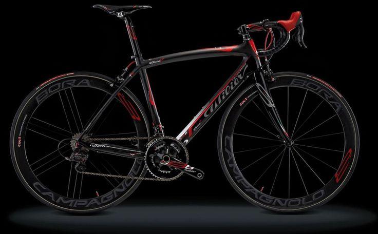 2013 Wilier  zero 7 in black/red.