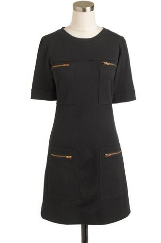 J.Crew. Zip Pocket Dress. $148 A Preppy Work Outfit In 3 No-Brainer Pieces #refinery29