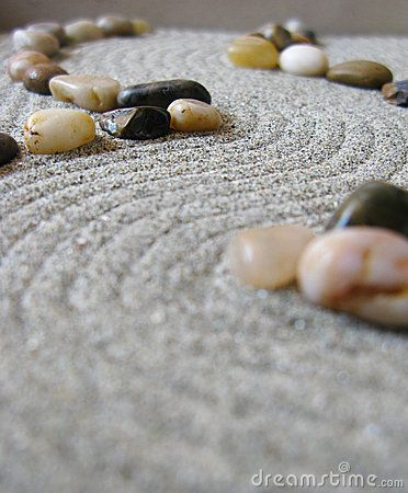 Zen garden path by AMCphotos , via Dreamstime