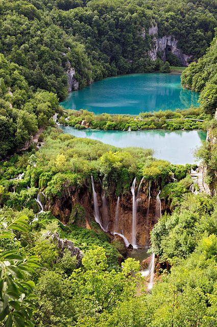 http://www.naturescanner.nl/europa/kroatie/plitvice-meren-kroatie Plitvice Lakes National Park - Croatia