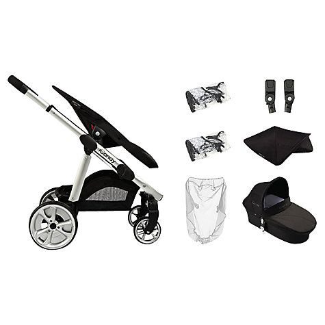 Buy iCandy Apple 2 Pear Pushchair Package, Caviar Online at johnlewis.com