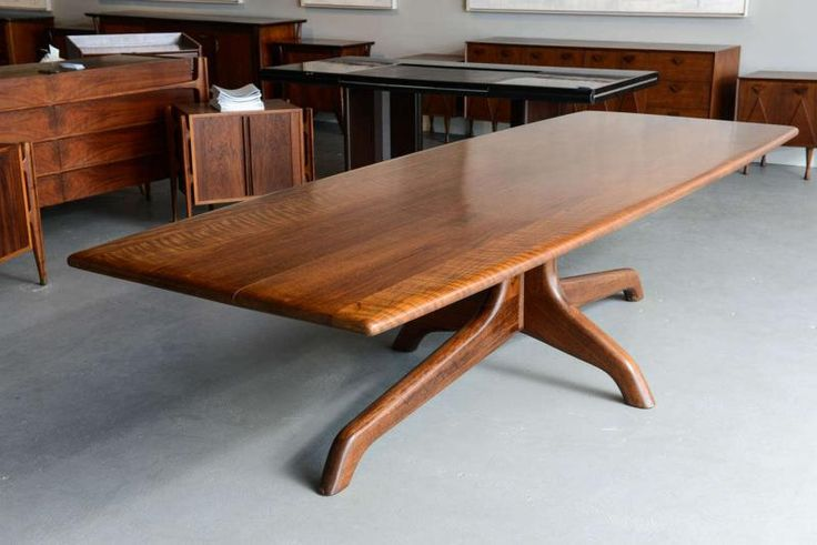 Sam Maloof - A Rare and Important Sam Maloof Dining/Conference Table, USA, 1980's offered by Gary Rubinstein Antiques on InCollect