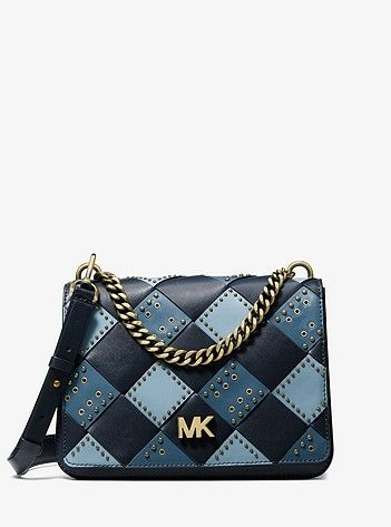 f210701eb5d5 Mott Large Embellished Patchwork Leather Crossbody | My must haves in 2019  | Leather crossbody bag, Michael kors crossbody bag, Women's designer  wallets