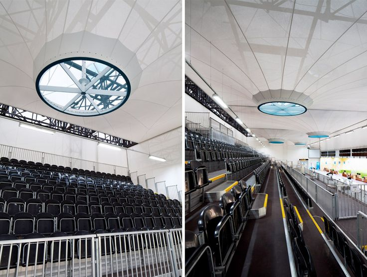 Olympic Shooting Venue, London, England // Magma Architecture