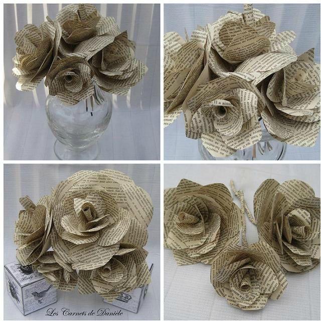 Fleurs papier 1