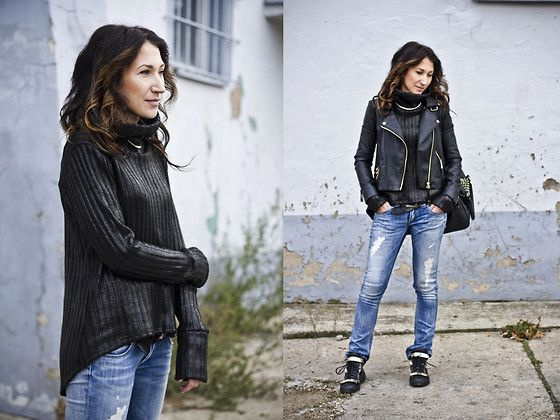 Blue *jeans (by Nina Dunin) http://lookbook.nu/look/4291797-blue-jeans