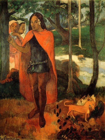 an evaluation of the painting agony in the garden by paul gauguin Study 84 art history midterm flashcards from colleen h on studyblue  agony in the garden  paul gauguin we hail thee mary.