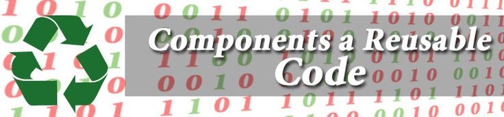 Components are written in any language, reusable in other environments, and are a familiar programming model. They provide database access and enhance browser capabilities and link navigation.  ASP obtains components using properties and methods. Properties are data objects that control the state of the object. Methods are functions that operate on the resources.