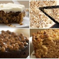 Weekly Mix: One-Layer Cakes