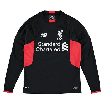 New Balance Liverpool Home Goalkeeper Shirt 2015/16 - Long Liverpool Home Goalkeeper Shirt 2015/16 - Long Sleeve - Kids BlackYoung fans can perfect their goalie skills in this Liverpool Long Sleeved Jersey. New for 2015/16, this shirt is the same one the pla http://www.MightGet.com/february-2017-2/new-balance-liverpool-home-goalkeeper-shirt-2015-16--long.asp