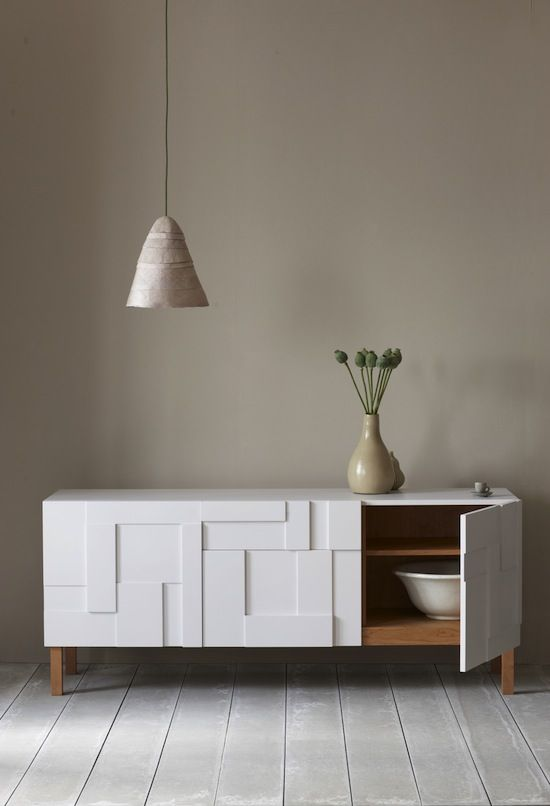 Pinch is the collaboration between husband and wife Russell Pinch and Oona Bannon. They work from their own studio in London and aim to create graceful and iconic furniture and lighting.
