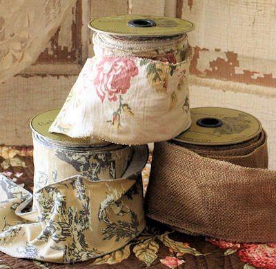 Widen patterned ribbon!