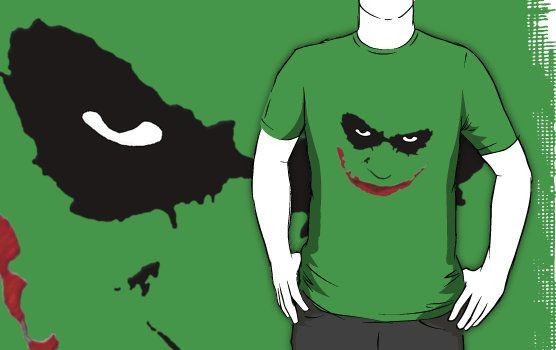 Joker Face Facesd T-shirt Design
