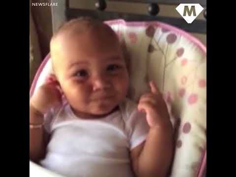 Adorable baby laughs like a chipmunk - https://www.pakistantalkshow.com/adorable-baby-laughs-like-a-chipmunk/ - http://img.youtube.com/vi/nQ_wPUY2txI/0.jpg