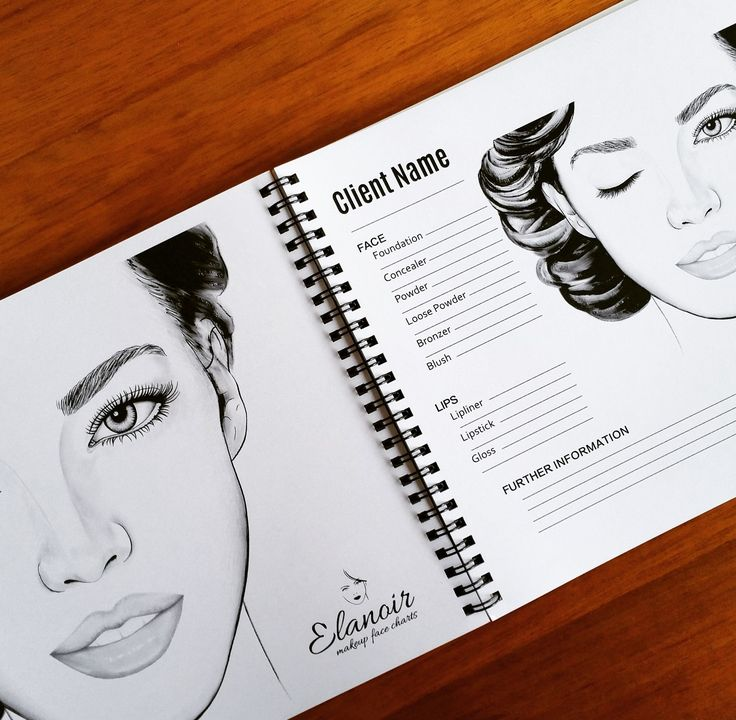 """Practise makeup looks with the perfect tool, Makeup Face Charts By Elanoir! Get it on Amazon.com or ebay,com search for   """"face charts""""  !!"""