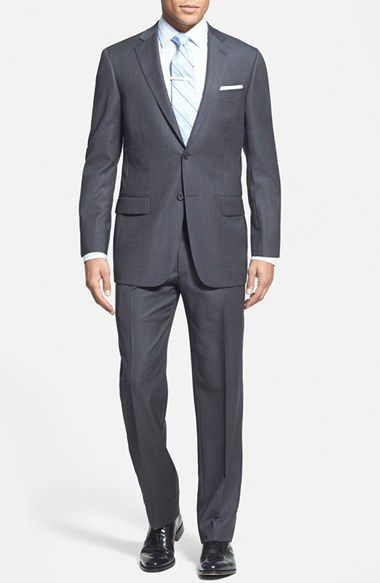 Hart Schaffner Marx Classic Fit Wool Suit available at #Nordstrom