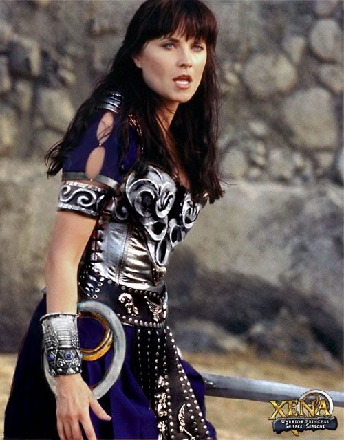 """Xena (1995-2001): Redeemed by Hercules, son of Zeus, Xena, once known as """"Murderer,"""" tries to fulfill her destiny as the """"Warrior Princess"""" fighting for the greater good. On her Quest, she meets Gabrielle, a small town bard hungry for adventure. Together they take down some of the worlds most formidable opponents, even the gods!"""