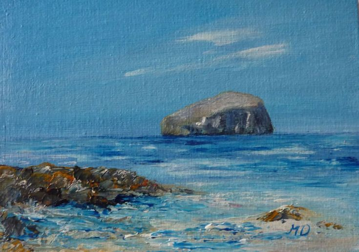 Buy Bass Rock in Spring, Acrylic painting by Margaret Denholm on Artfinder. Discover thousands of other original paintings, prints, sculptures and photography from independent artists.