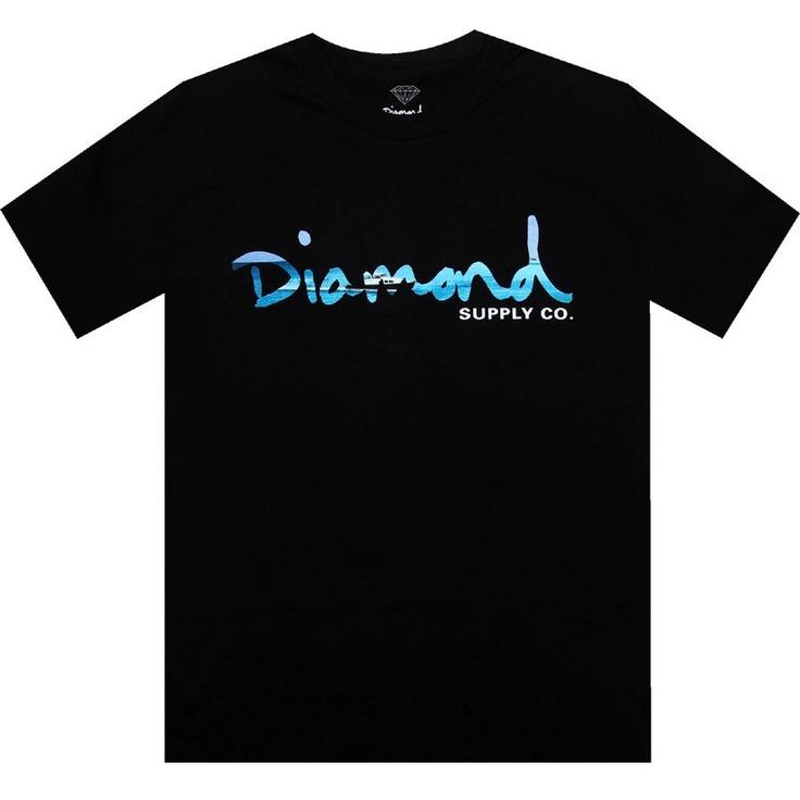 Diamond Supply Company OG Yacht Tee in black