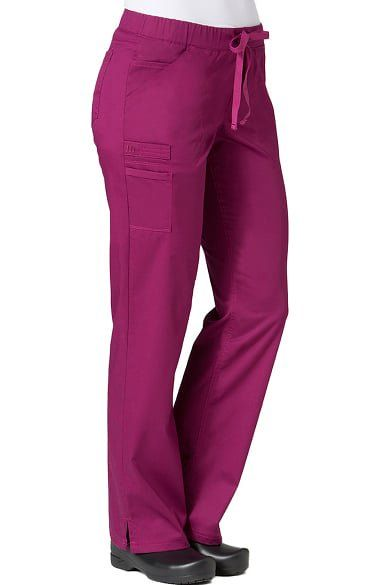 Get all the details you love in the PrimaFlex by Maevn Women's Straight Leg Scrub Pant. Extra pockets store your phone and tools while an elastic drawstring waist lets you find your perfect fit.Mis...