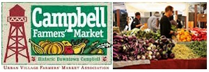 Sunday Farmer's Market in Downtown Campbell is one of the best in the area!