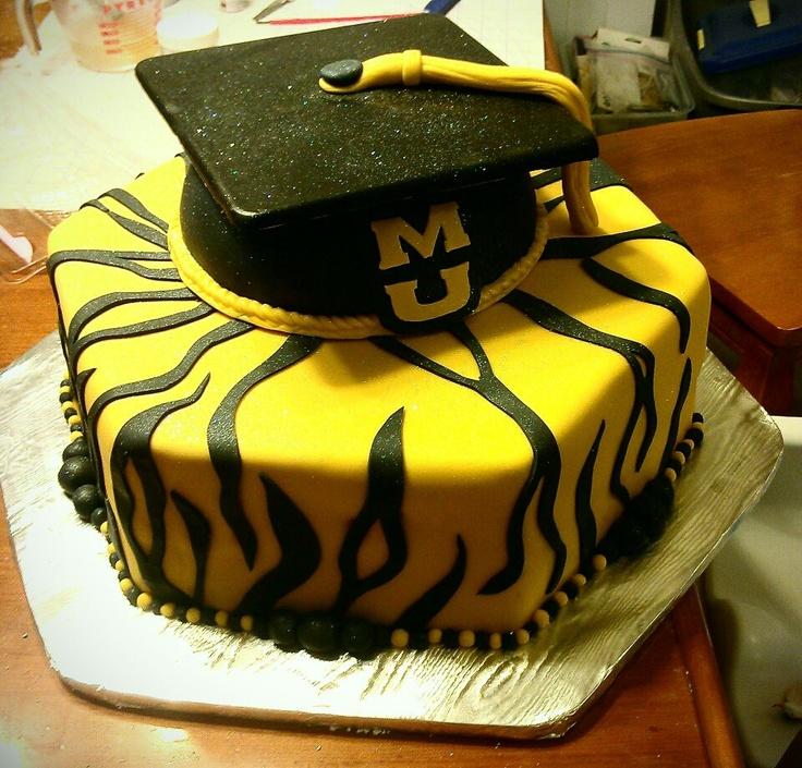 Congrats Charles Mizzou Grad Cake What I Do