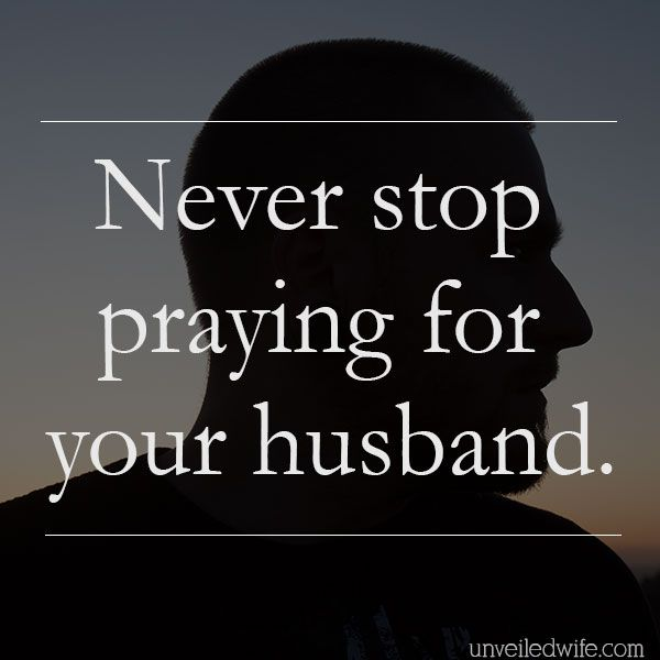 Never Stop Praying For Your Husband --- I received this testimony from a wife in the Unveiled Wife Community, a wife who desired to remain anonymous. I am grateful for her bravery to share her story and I am confident it will inspire more wives in our community. She writes: I can finally sit he… Read More Here http://unveiledwife.com/never-stop-praying-for-your-husband/