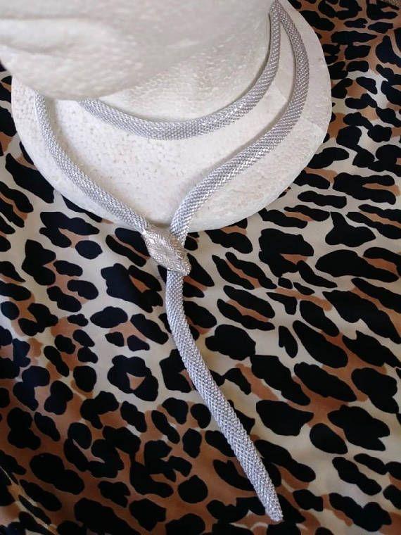 Vintage 1970s Serpent Snake Necklace Belt Boho Hippie Egyptian