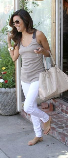 Love her casual style