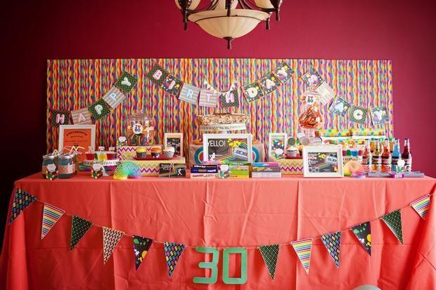 39 best images about fiesta 30 cumplea os 30th birthday - 30 cumpleanos ideas ...