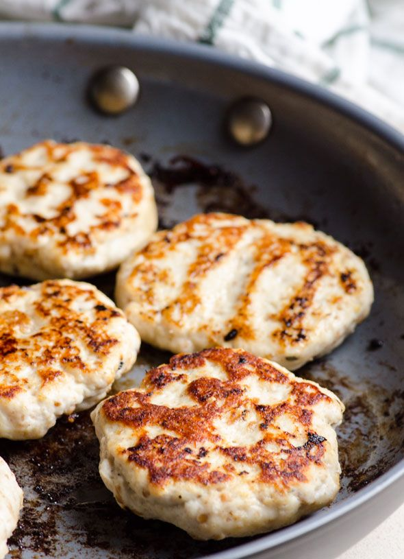 Original ground chicken patties recipe from my Ukrainian grandma. Can be grilled and is great in a burger or with quinoa and salad.   ifoodreal.com