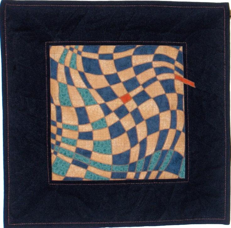 Tilkkutaiwas - Patchwork heaven: Japanilaista pujottelua - Japanese meshwork