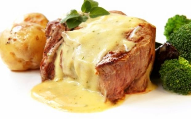 Steak with bearnaise Recipe by Ina Garten