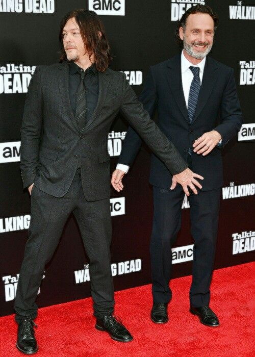 Andrew Lincoln with Norman Reedus