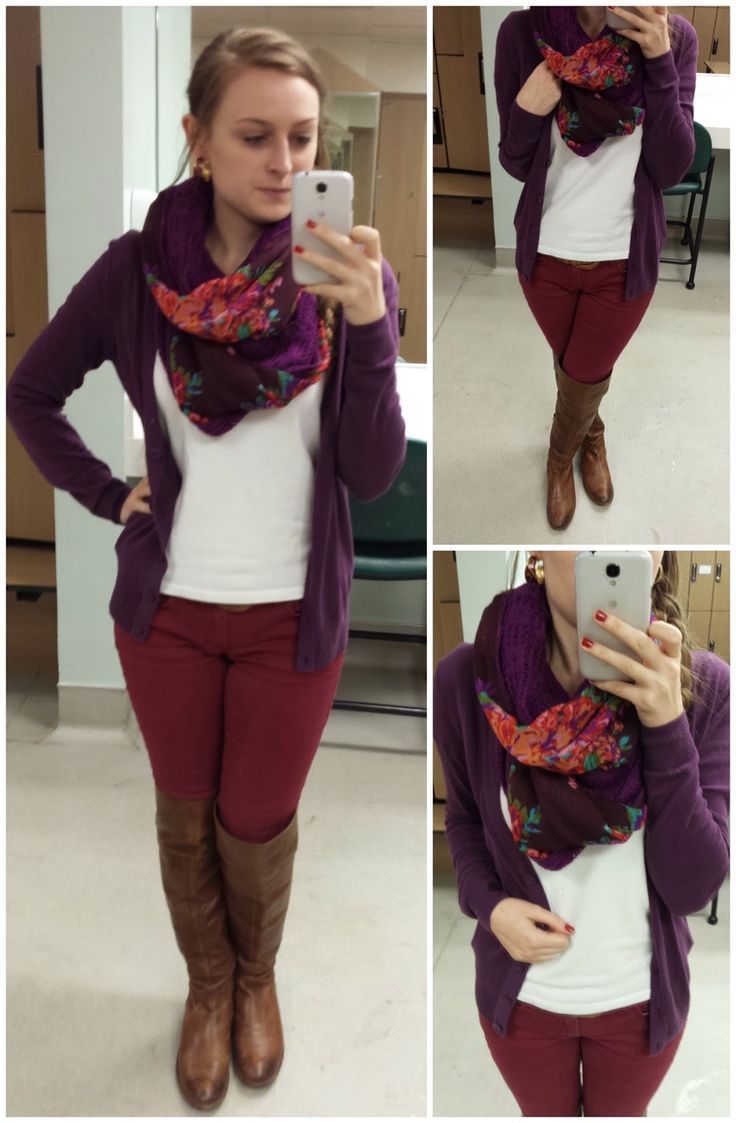 Dress color combination with brown color