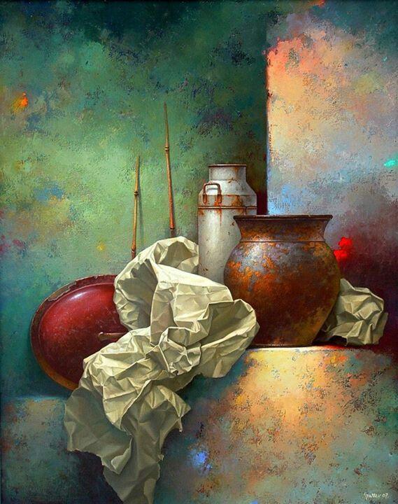 Pintura de Edward Szutter. #buyart #cuadrosmodernos #art