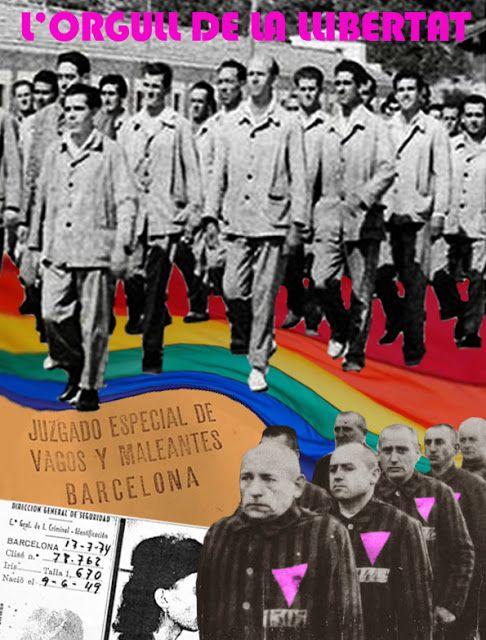Franquismo, Gays, Lesbianas, LGTB+, Libertad sexual, Memoria Histórica, Represión, El Orgullo de la libertad, Orgullo Crítico