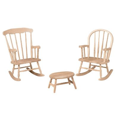 Childrenu0027s Furniture   Rocking Chairs   Windsor Rocker, Boston Rocker,  Cricket Stool