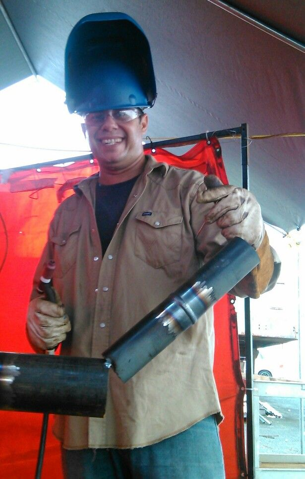 Wicho 6g test new welder in UPSi . nice weld my old friend ...